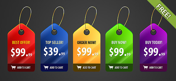 price sale tag psd 08 20 Free Price / Sale Tag PSD Templates for Ecommerce Website