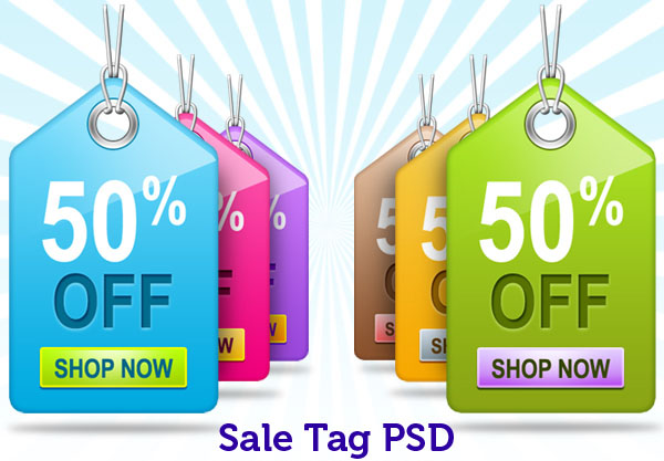 price sale tag psd 18 20 Free Price / Sale Tag PSD Templates for Ecommerce Website