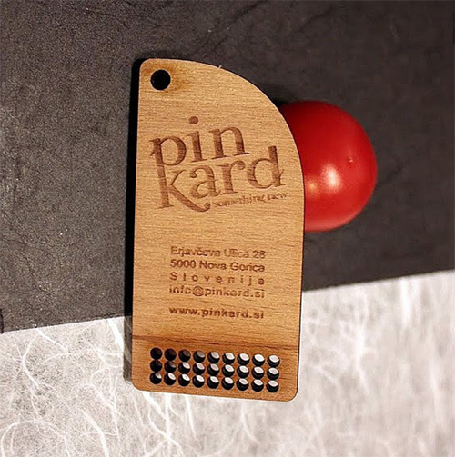 wood card 11 40 Creative Wooden Business Cards Inspiration