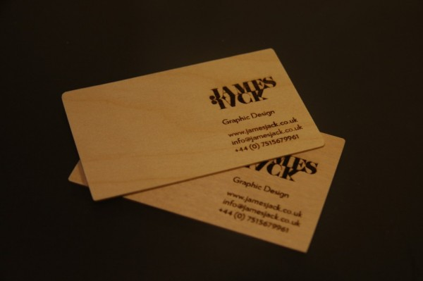 wood card 17 40 Creative Wooden Business Cards Inspiration
