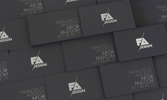 black business cards 23 40 Inspirational Black Business Cards