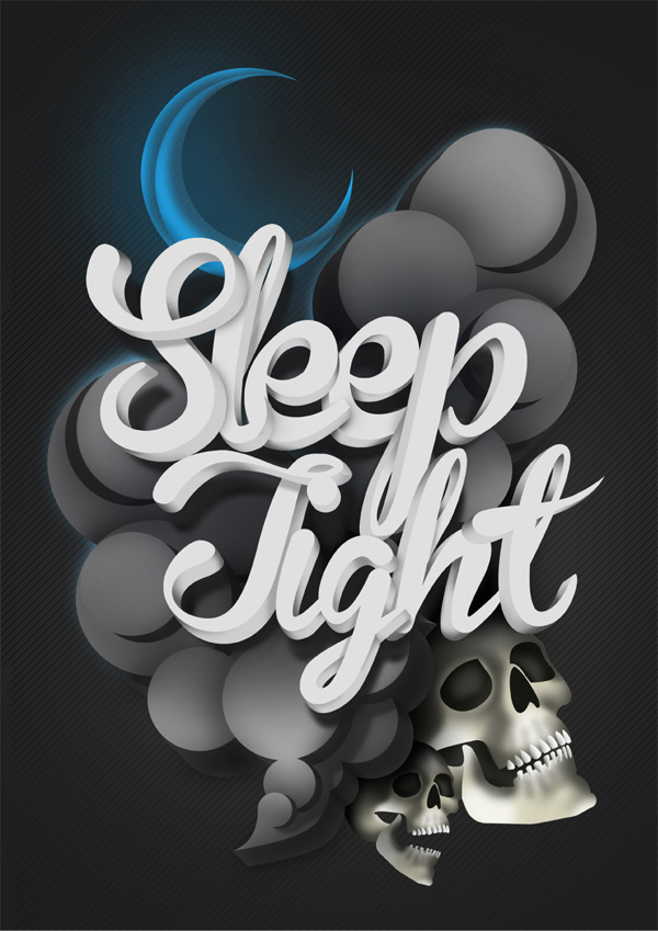 Sleep Tight typography Typography Artworks by Will Lanham