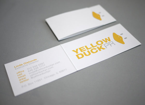 40 Stunning Folded Business Card That You Will Love