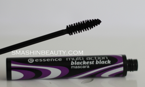 Makeup Review Essence Multi Action Blackest Black Mascara smashinbeauty