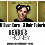 Official Bears and Honey Bear Ears Hair Tutorial