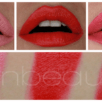 Makeup review: Inglot Lipstick 24, 12, 38, 10, 02 and swatches