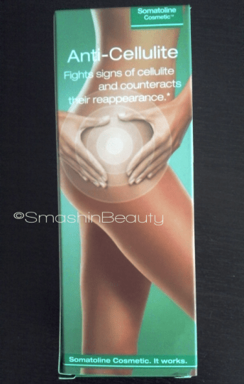 Somatoline cosmetic anti-cellulite treatment cream review