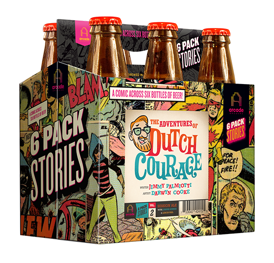 Palmiotti, Cooke's 'The Adventures of Dutch Courage' arrives in Chicago beer stores