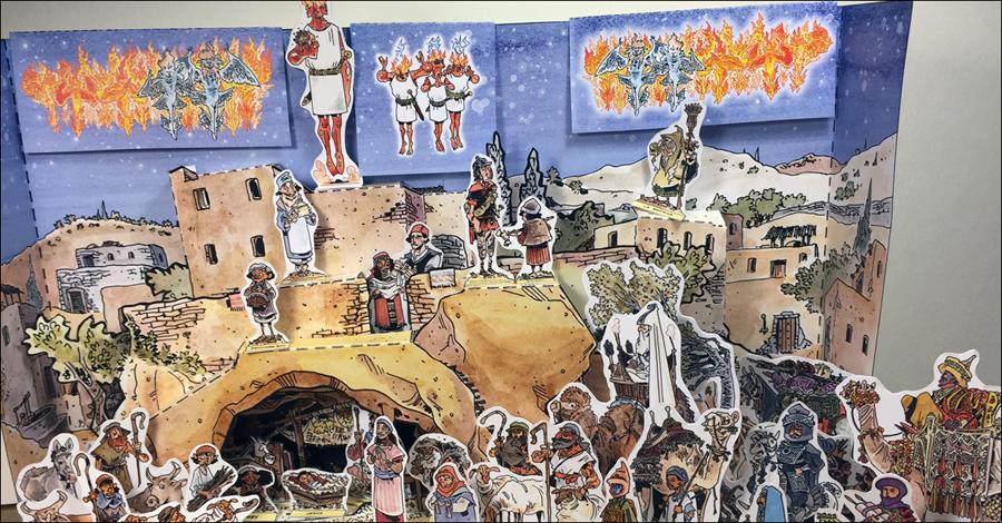 Download Chris Schweizer's paper Nativity set