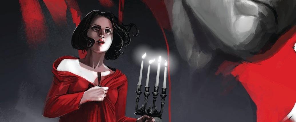 From Stephanie Hans' cover for 'Deadman: Dark Mansion' #1