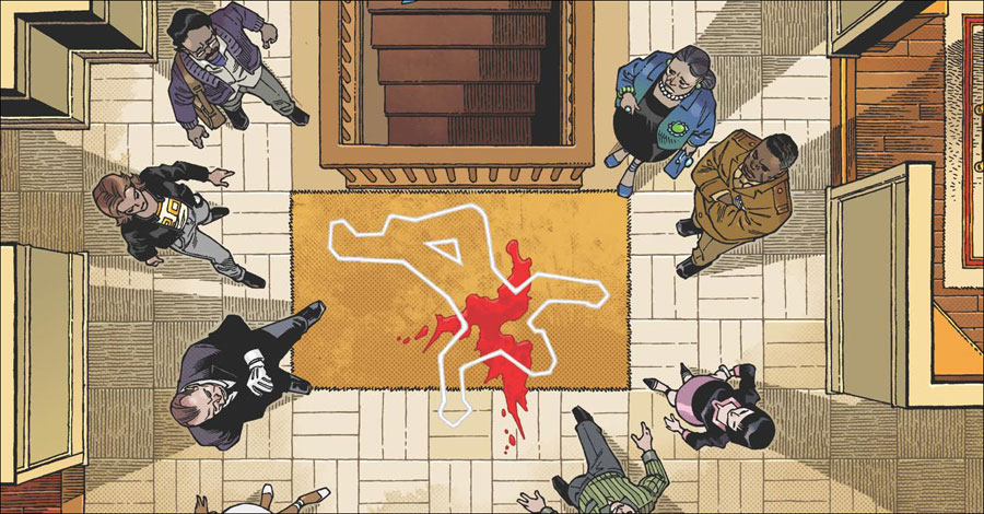IDW and Hasbro bring 'Clue' to comics