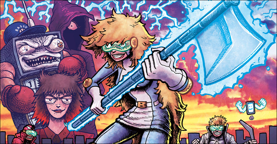 Go, go Task Force Rad Squad: Pay-what-you-want comic hits its fifth issue