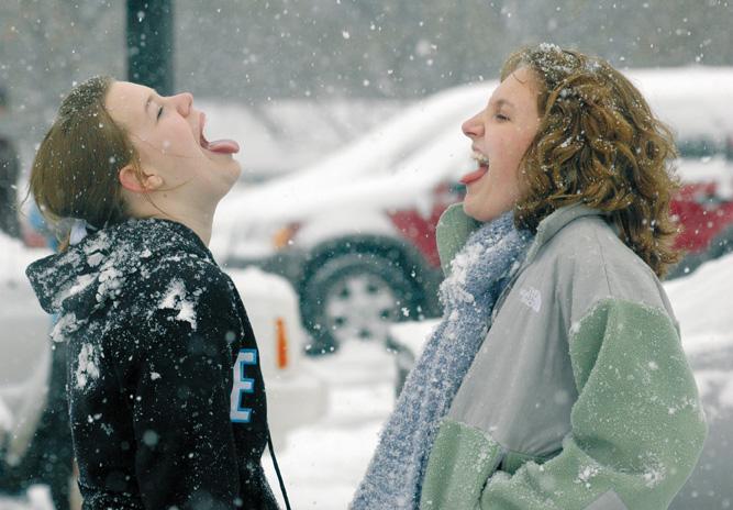 School Adjusts to Multiple Snow Days