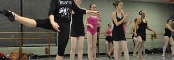 Sophomore Finds Consolation in the Art of Dance