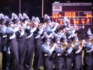 Video: Marching Band Performs After Homecoming Game