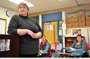 Jeannette Bonjour Voted NHS Teacher of the Year