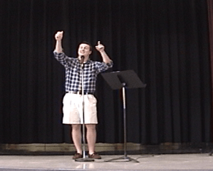 Students Compete in 2011 District Poetry Slam