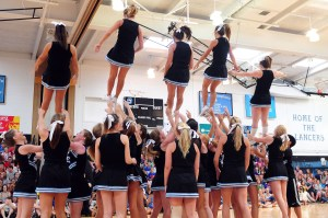 Junior Varsity Cheerleading Results Announced