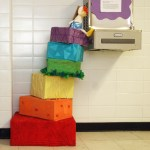 Seussical Staircase by Carolyn Wolff and Lucy Lehoczky