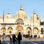 St. Mark's Basilica in Venice, Italy. Photo by Molly Howland.