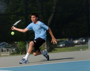 Two Seniors Plan To Play Tennis In College