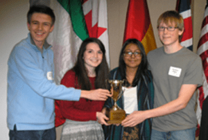 Academic WorldQuest Will Compete at Nationals