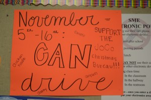 Student Council Hosts New Events to Benefit the Can Drive