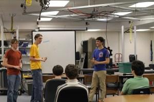 Robotics Team Begins Competition Season