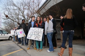 Jazz Band Cuts Cause Protest