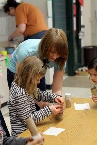 Gallery: NAHS Members Make Rain Sticks with Briarwood Students