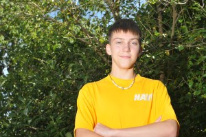 Sophomore Follows Family Tradition of Military Service Through ROTC.