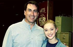 Actor Rob Riggle Visits East
