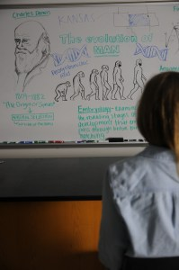 Kansas Debates Teaching Evolution in Public Schools