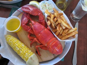 International Club Hosts Lobster Landing