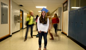 Senior Works to Graduate Early