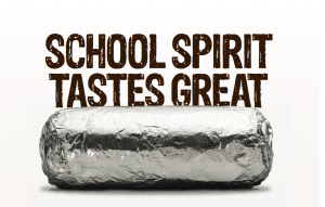 Football Hosts Chipotle Fundraiser