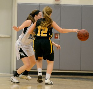Gallery: Girls' Sophomore Basketball vs. SM West