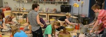 Students Find Outlet Through Ceramics Club