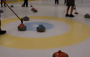 Video: Sophomore Competes In Curling