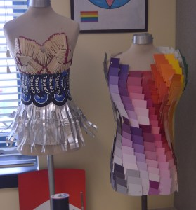 Fashion Club Makes Dresses From Recycled Materials