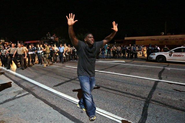 Tuesday Ferguson protests