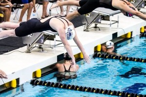 Senior Swimmer Commits to Nebraska