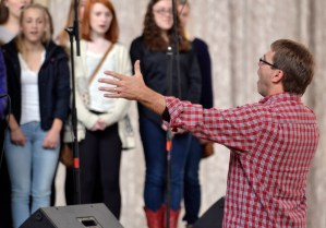 Gallery: Choir Flash Mob