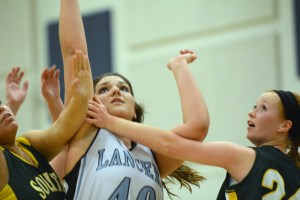 Gallery: Girls Sophomore Basketball vs. SM South