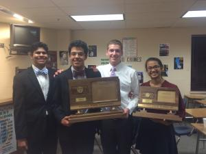 East Debate Teams Win State Tournament