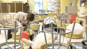 Seniors Pursue Ceramics Independent Study