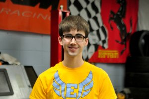 Senior Works Hard in Auto-Tech With Team
