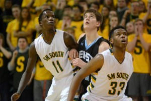 Basketball edges past SM South