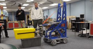 Robotics Team To Compete in First Competition