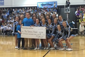 Cheerleaders Lead Fundraising Campaign